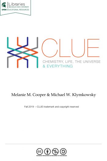 Cover image for CLUE: Chemistry, Life, the Universe and Everything