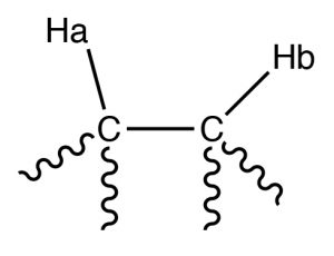 A Lewis structure of HACCHb.
