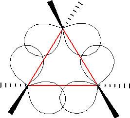 An image of cyclopropane.