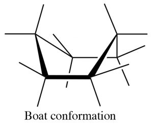 An image of boat conformation.