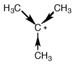 An image of a 3-d of carbocations.