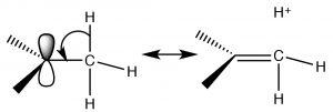 An image of hyperconjugation.