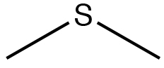 An image of a lewis structure of sulfide.