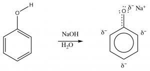 An image of phenolate anion.