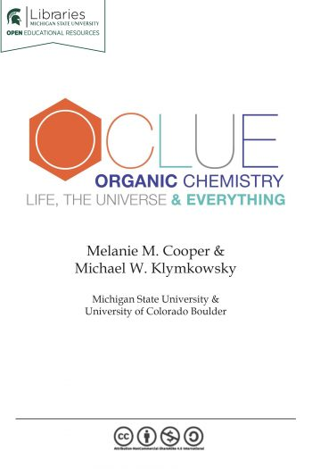 Cover image for OCLUE: Organic Chemistry, Life, the Universe & Everything